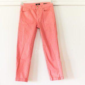 Kensie Coral Cropped Jeans